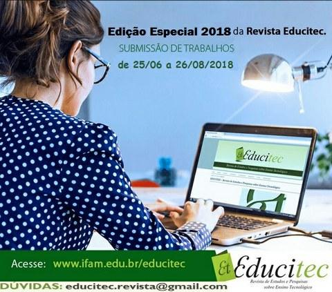 Edição Especial - 2018 - Educitec