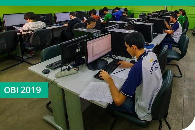CMC realiza a 2ª fase da Olimpíada Brasileira de Informática 2019