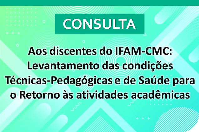 Consulta aos discentes do Campus Manaus Centro