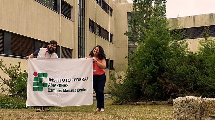 Estudantes do CMC retornam de Portugal após apresentação de projetos