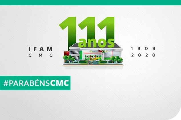 Hoje o nosso IFAM-CMC está fazendo aniversário