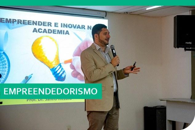 Nova etapa do ciclo de palestras abordou o universo do empreendedorismo e a inovação na academia