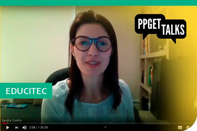 PPGET Talks sobre Revista Educitec disponível no YouTube
