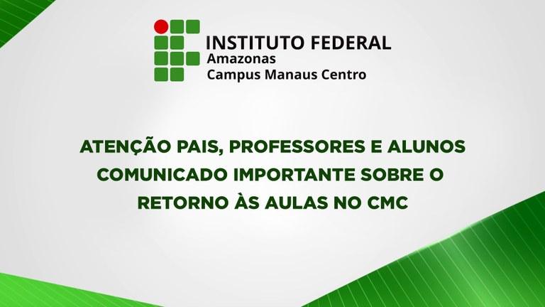 RETORNO ÀS AULAS NO CMC
