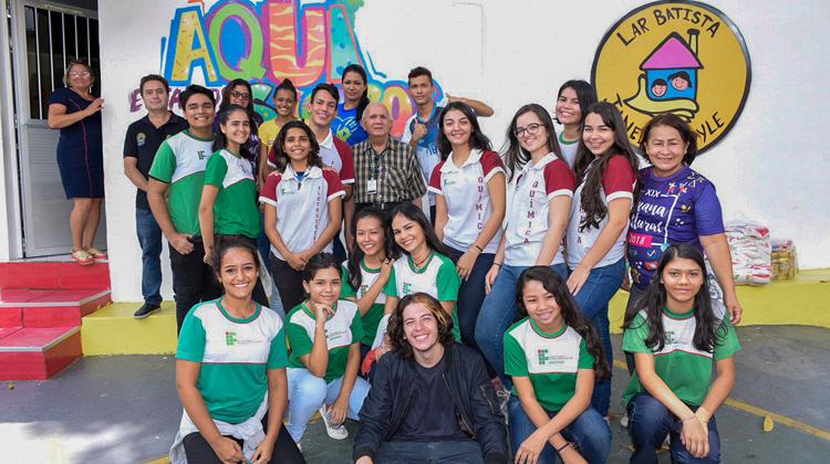 Semana Cultural encerra com ação de cidadania e solidariedade dos nossos alunos