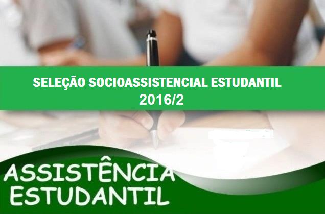 Edital do Programa Socioassistencial Estudantil IFAM/CMDI 2016/2