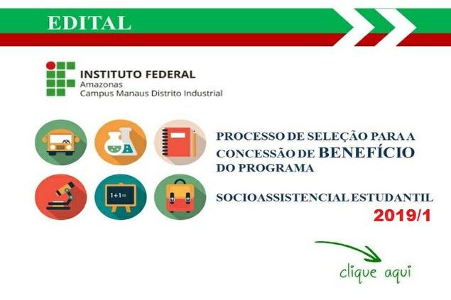 EDITAL N. 1/2019 - Programa Socioassistencial Estudantil