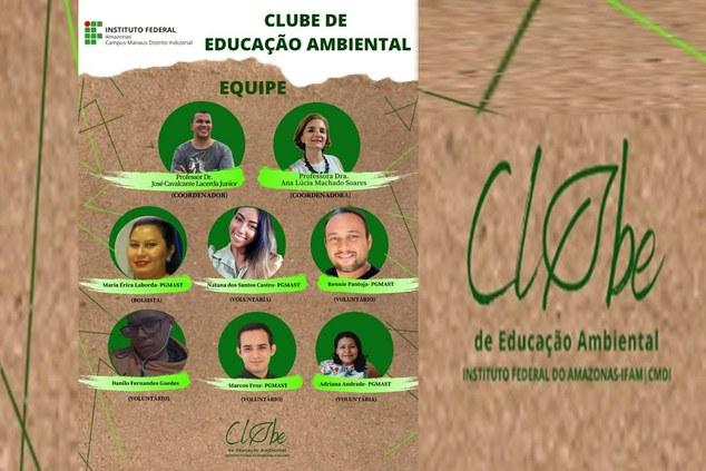 CLUBE DE EDUCAÇÃO AMBIENTAL