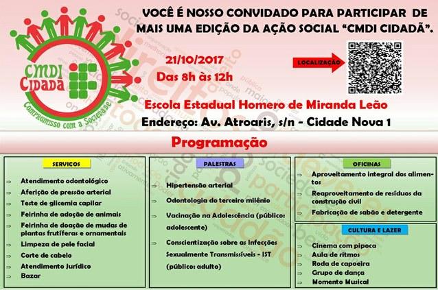 Ação Social CMDI Cidadã