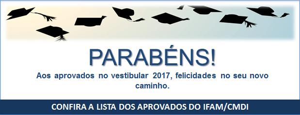 Aprovados Vestibular 2017