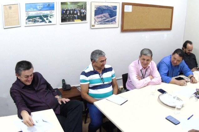Direção Geral do Campus realiza encontro com Reitor e Pro-reitores do Ifam
