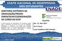 Palestra Exame Nacional de Desempenho dos Estudantes