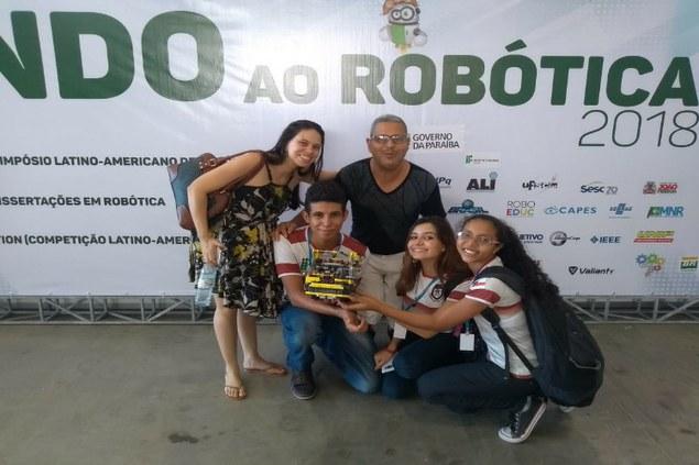 IFAM-CMDI garante participação na rodada final da Olimpíada Brasileira de Robótica