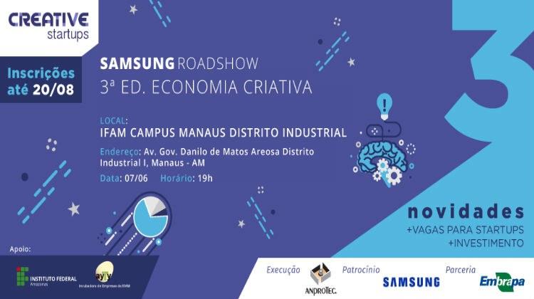 IFAM CMDI receberá Roadshow da SAMSUNG