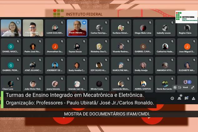 MOSTRA DE DOCUMENTÁRIOS IFAM/CMDI - SÁBADO 18/09/2021
