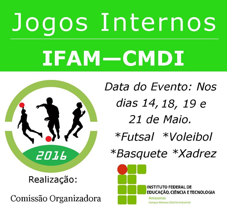 Jogos Internos IFAM-CMDI
