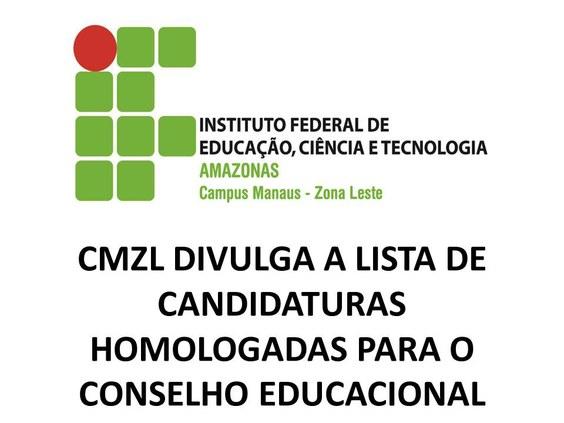 CMZL divulga lista das candidaturas homologadas para Conselho Educacional