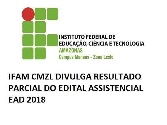 Resultado Parcial - Edital Assistencial - EAD 2018
