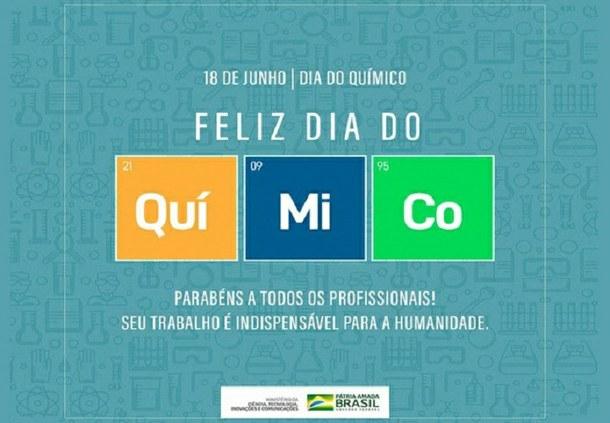 Feliz Dia do Químico