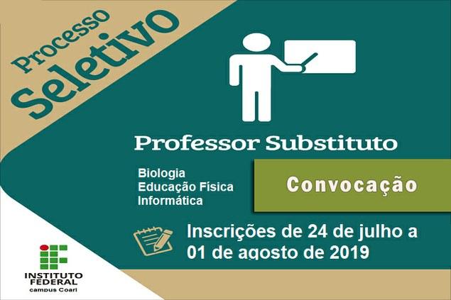 Comunicado - Candidatos aprovados no PSS