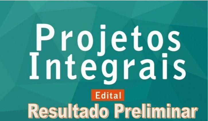 Resultado Final da Seleção para os Projetos Integrais 2017 - 2º semestre