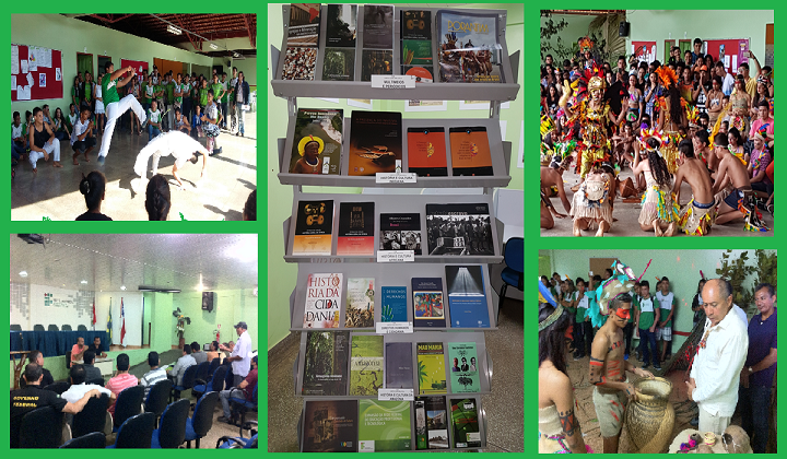 Eventos do dia 28/07 -  Inauguração das Novas Alas da Biblioteca do IFAM CCO