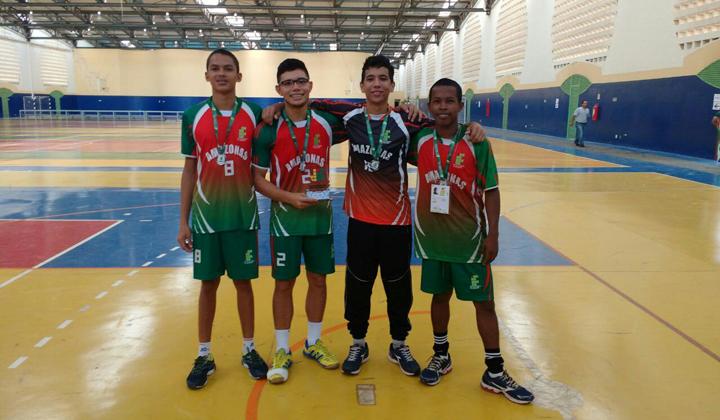 JIF 2016: IFAM é vice-campeão no handebol masculino com alunos do IFAM CCO