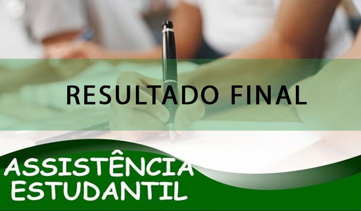 Resultado Final da Seleção para o PAES 1º Semestre 2017