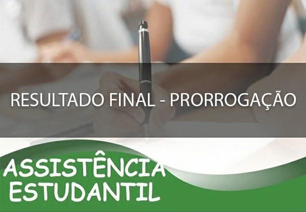 Resultado Final PAES 2020 - Prorrogação