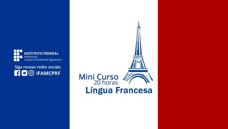 Centro de Idiomas do IFAM CPRF abre matrículas para Mini Curso de Francês