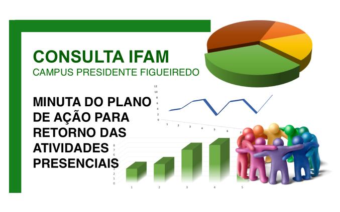 Minuta do plano de ação para retorno das atividades presenciais do IFAM - Campus Presidente Figueiredo