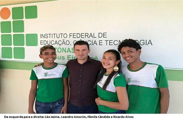 Campus Eirunepé conquista classificação para disputar a fase presencial da 7ª olimpíada brasileira de agropecuária (OBAP)