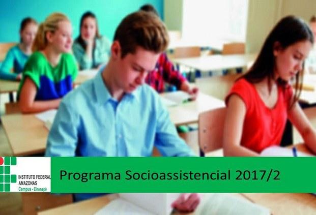 Programa Socioassistencial 2017/2- Campus Eirunepé