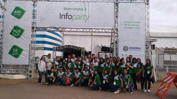 IFAM Campus Humaitá na INFOPARTY 2017 - Porto Velho RO
