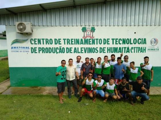 Reprodução induzida de tambaqui - Campus Humaitá.