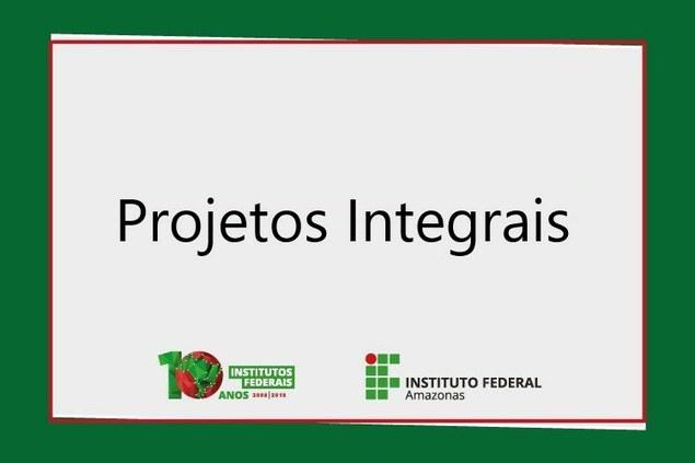 Projetos Integrais - 2019
