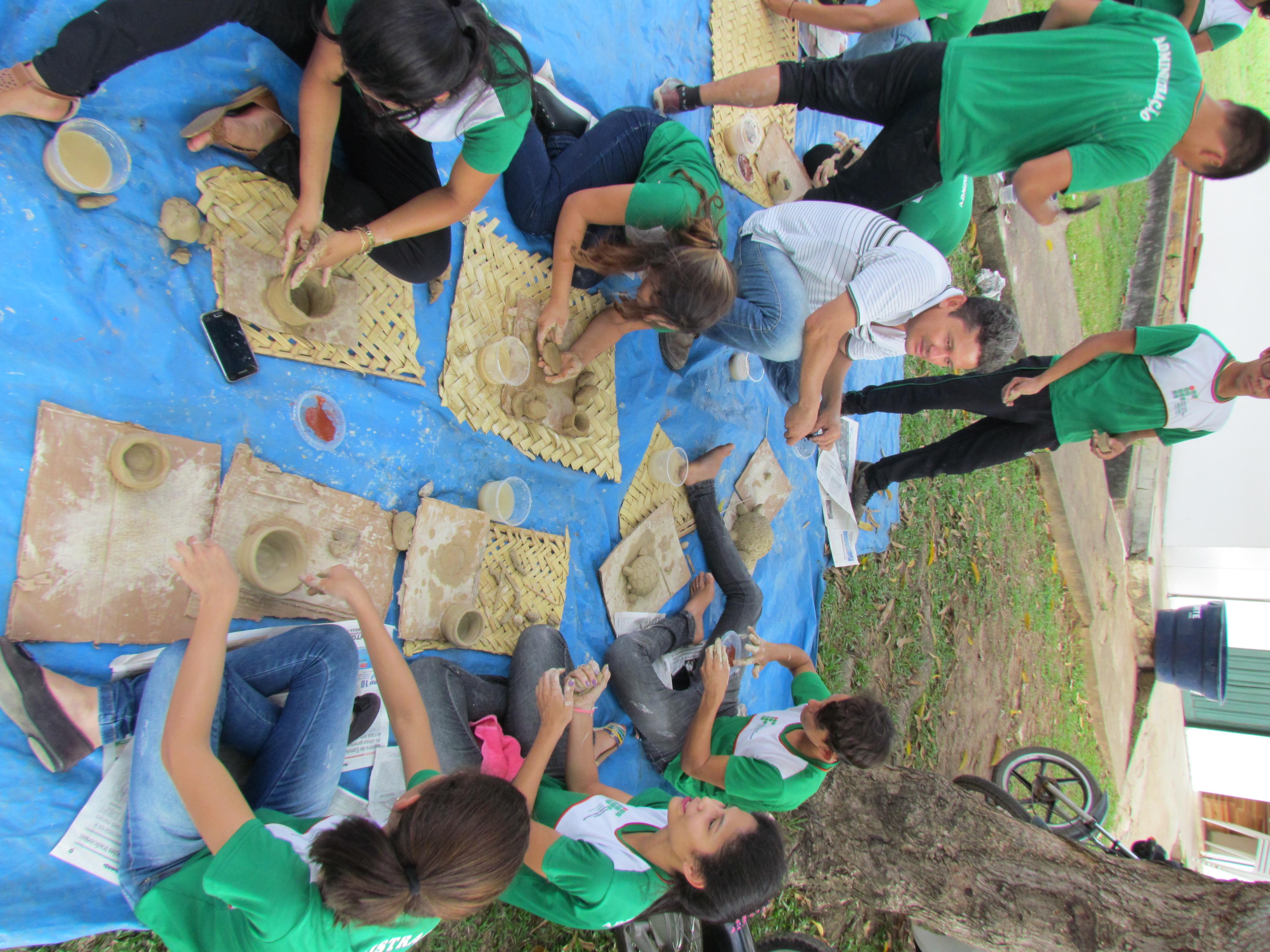Arqueólogos da UNIR em Humaitá