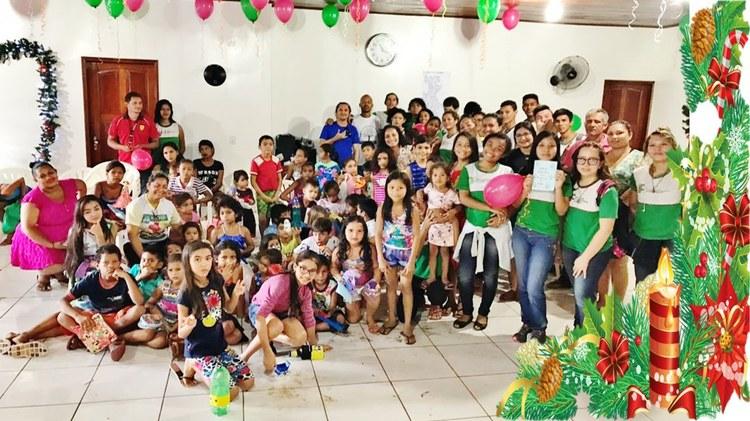 'Natal solidário' do IFAM Itacoatiara festeja junto com instituição filantrópica