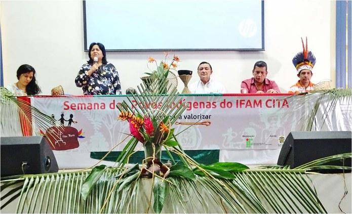 Ações da I Semana dos Povos Indígenas do IFAM têm resultado positivo em Itacoatiara