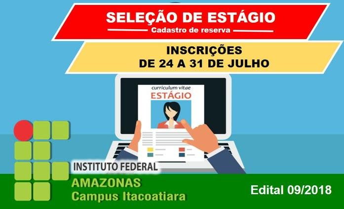 IFAM Campus Itacoatiara realiza cadastro de reserva para estagiários
