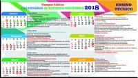 Calendário Acadêmico Sistêmico  2018