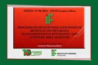 Processo de seleção de estudantes para a concessão de benefícios do programa socioassistencial estudantil.