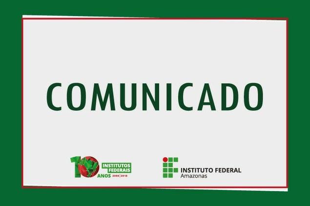 Comunicado referente ao início das aulas - 2º Semestre/2019