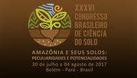 Docente do campus Lábrea participa do XXVI Congresso brasileiro de ciência do solo.