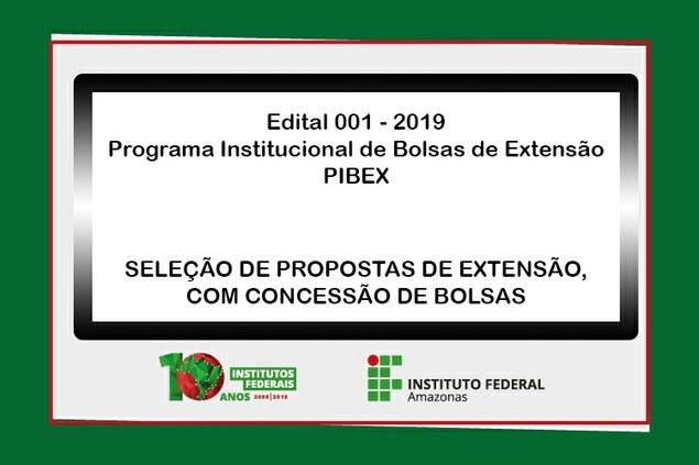 Edital n⁰ 001, de 14 de fevereiro de 2019
