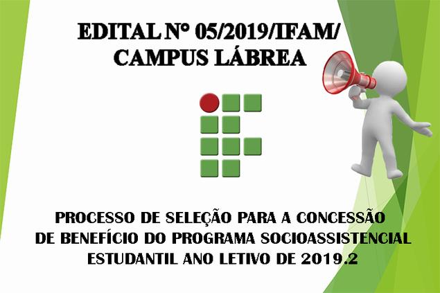 Edital n° 05/2019/IFAM/Campus Lábrea