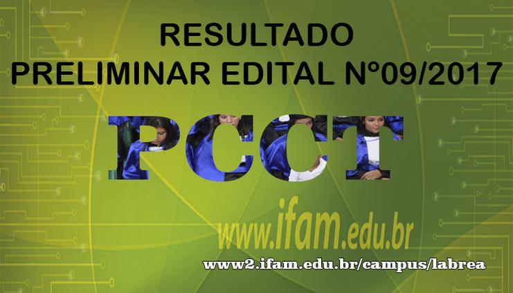 EDITAL N°. 09/2017/IFAM/CAMPUS LÁBREA