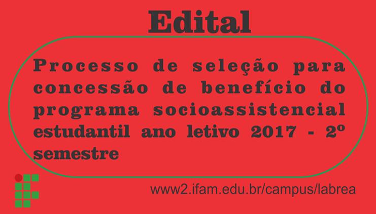 EDITAL N°. 11/CAMPUS LÁBREA/IFAM.