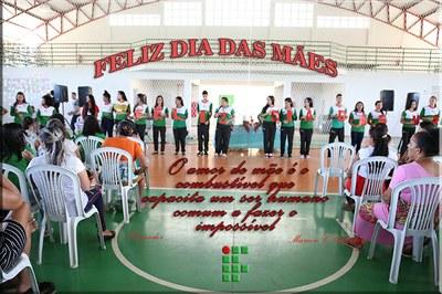 Dia de homenagem em comemoração ao dia das mães no IFAM campus Lábrea.