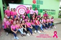IFAM Campus Lábrea adere a campanha do outubro rosa 2018.